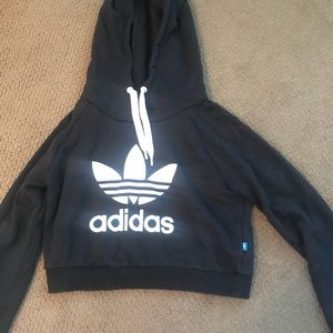 Urban Outfitters Cropped Adidas Sweatshirt